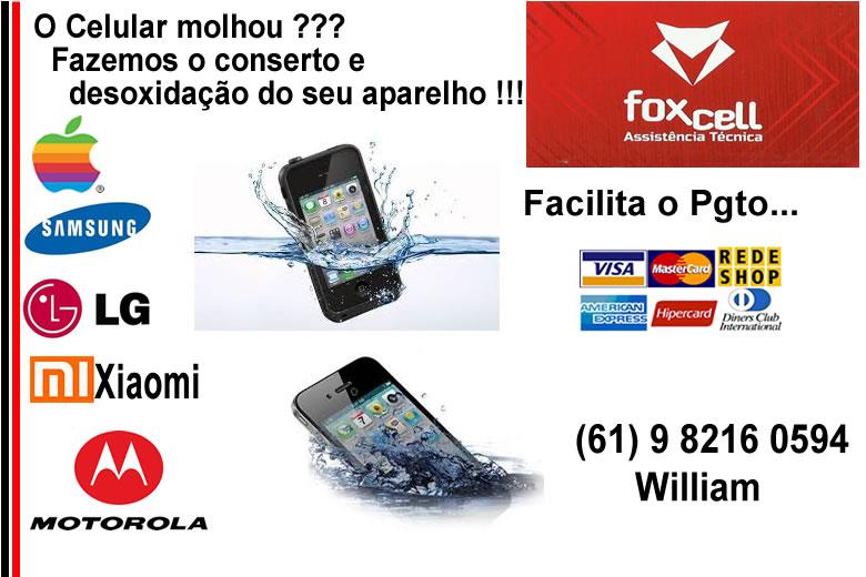 Link02_Cel_Molhado_Fox_Cell FOX-Cell  Assistência para Celulares