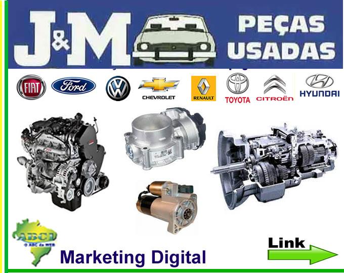 Link_01_Base_JM_Ap_ JM Peças Usadas , Auto Peças e Latarias Semi Novas