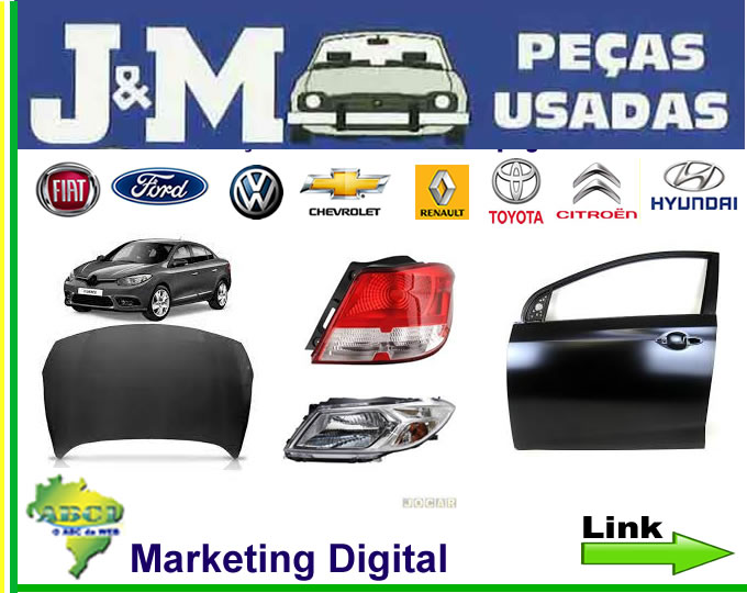 Link_02_Base_JM_Ap_ JM Peças Usadas , Auto Peças e Latarias Semi Novas