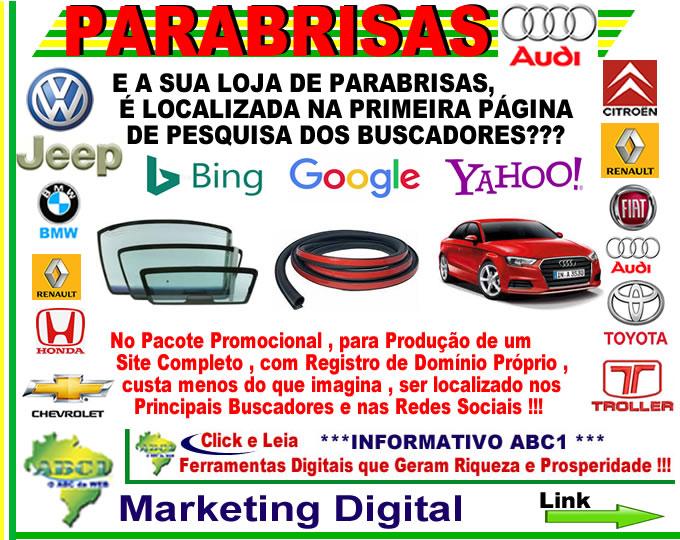 Link_01_PP_Audi_Parabrisas Loja de Parabrisas _ Pacote Promocional para Produção de Site
